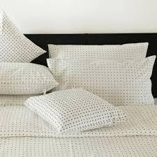 losal clean polka dot design duvet cover double indigo