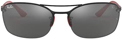 Encontrarás artículos nuevos o usados en ferrari carteras para hombres en ebay. Amazon Com Ray Ban Rb3617m Scuderia Ferrari Collection Gafas De Sol Cuadradas Para Hombre Negro Shoes