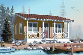 126 1022 1 bedroom 400 sq ft small house plans 126 1022 front