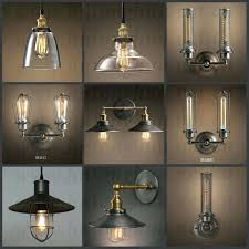 Retro industrial lighting fixtures Old School Vintage Industrial Lighting Fixtures Style Lamp Guard Cage Bulb Light Fixture Edison Diy Spotmediagroupco Bulb Fixture Vintage Industrial Pendant Light Glass Globe Shade