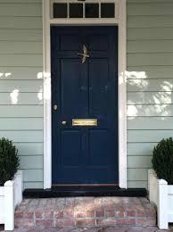 Front Door : Salvaged Door Color For Orange Brick House Buscar Con ...