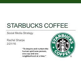 starbucks social media strategy