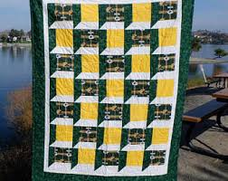 Packers quilt | Etsy & NFL Green Bay Packers Large Throw Quilt Adamdwight.com