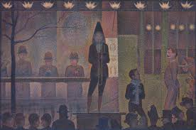 georges seurat and neo impressionism essay  circus sideshow parade de cirque