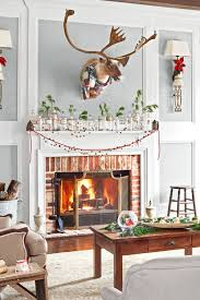 Unique Fireplace Mantel Ideas Also 38 Christmas Mantel Decorations Ideas  for Holiday Fireplace
