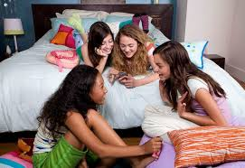 Girly sleepover free porn movies