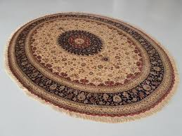 Persian Area Rug Oval Braided Rug Sets Tabriz Rug Blue Braided Rugs ...