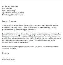 Follow Up Letter After Interview Example Email Resume Sample 7 Job
