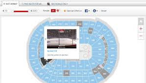 Acc Interactive Seating Chart Msg Interactive Seating Consol Seating Chart Hockey Acc Seat