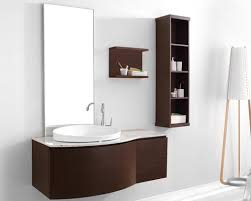 isabelle bathroom vanity set with side cabinet and shelf from virtu usa