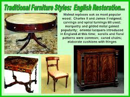 most popular furniture styles. traditional furniture styles english restoration most popular e