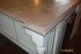 pour in place concrete countertop