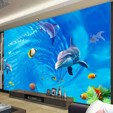 Ocean Wallpaper For Bedroom Online Get Cheap 3d Textile Wallpaper Ocean Aliexpresscom