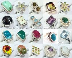 whole 925 sterling silver gemstone rings