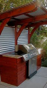 What is a backyard without a grill, making sure your grilling area has some  flair attracts people outdoors and is… | Backyard, Outdoor kitchen grill,  Backyard patio