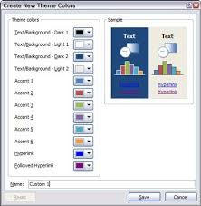 How To Create A Color Scheme In Powerpoint Dummies