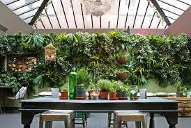 artificial vertical garden green wall