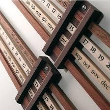 wooden perpetual wall calendar 11 best perpetual calendar images on perpetual calendar