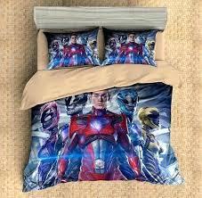 customize power rangers bedding set duvet cover bedroom ranger comforter pink