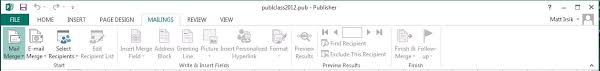 Microsoft Publisher Format Publisher Ribbons Microsoft Publisher Basics Ulibraries