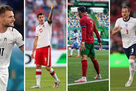 جدول ترتيب هدافي بطولة يورو 2020