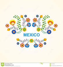 colorful frame border design. Mexican Ethnic Flower Frame - Border Design. 2018, Colorful. Colorful Design