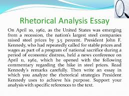 a reading strategy for rhetorical analysis ppt video online rhetorical analysis essay