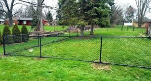 chain link fence installation.  Chain Spray Paint Chain Link Fence Bottom Rail Option For Fencing  Black Painted Intended Chain Link Fence Installation