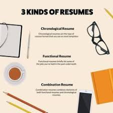 3 Types Of Resumes Pleasing The 3 Types Of Resume Explained