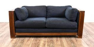 wooden frame sofa with cushions. Beautiful Sofa Wood Frame Couch With Removable Cushions And Wooden Sofa With A