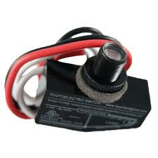 Mini Photocell Light Sensor Defiant 500 Watt 7 16 In Mini Button Outdoor Dusk To Dawn