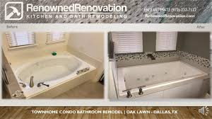 Condo Bathroom Remodel Interesting Before And After Kitchen And Bathroom Remodeling Pictures Renowned