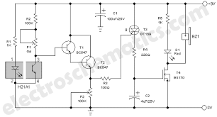 smoke detector alarm circuit smoke alarm circuit diagram h21a1 schematic