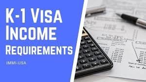 Joint Sponsor Income Chart K 1 Visa Income Requirements Financial Support Criteria