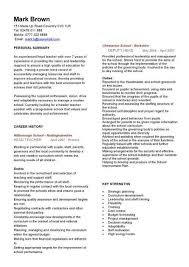 Resume Template For Teacher Custom Cv Template Teacher Cv Template Pinterest Teacher Resume