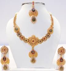 Gold Set Design 2019 In Pakistan Pakistani Gold Jewelry Designs Images Top Pakistan