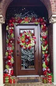 Pinterest Deco Mesh Garland Around Front Door