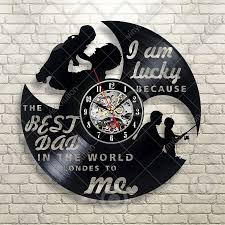 wall clocks for office. Vinyl Camp Wall Clock, Campsite Decor, Fathers Day Gift Idea, Campfire Sign, Art,Christmas ,Furnturn Decoration,Home And Office, Clocks Deals For Office