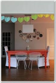 i will be painting my table orange in the near future love