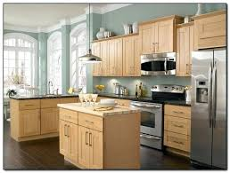 Kitchen Colors With Light Wood Cabinets Impressive Decorating Ideas