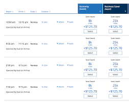 United Mileage Award Chart My Favorite New United Mileageplus Redemption Live And