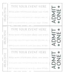 Banquet Tickets Sample Sample Dinner Ticket Templates Free Word Designs Event
