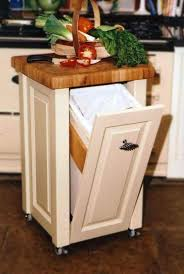 decorative outdoor trash cans garbage can storage kitchen on wheel home decorations get dayri me