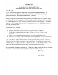 Cover Letter Sample With Resume