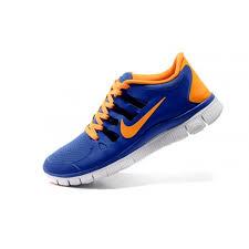 nike running shoes for men blue. nike free 5.0+ breeze mens running shoes blue/orange 579959 nike for men blue e
