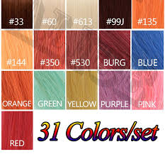 350 Hair Color Chart Human Hair Color Chart Extensions 31 Colors Hair Colour Chart Human Hair Color Ring Hair Extension Color Ring