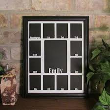 school years picture frame with name graduation collage k 12
