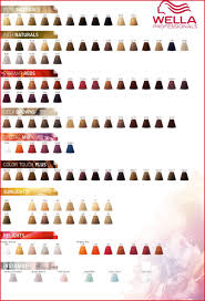 Koleston Perfect Color Chart Colour Touch Chart Natural