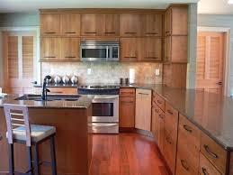 mid century modern vacation home modern kitchen