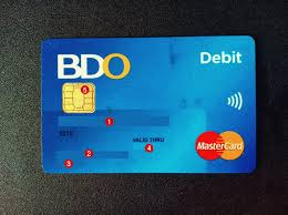 Procedure for bdo credit card application. How To Find Your Bdo Account Number The Pinoy Ofw